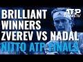 Brilliant Winners in Zverev vs Nadal | Nitto ATP Finals 2019