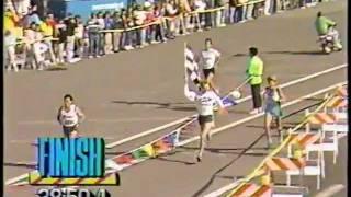 INGRID KRISTIANSEN wins @ 1989 BAY to BREAKERS in San Francisco