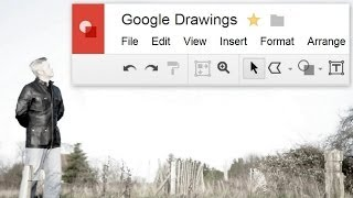 Google Drawings Part 1 Make a Collage with a Shadow