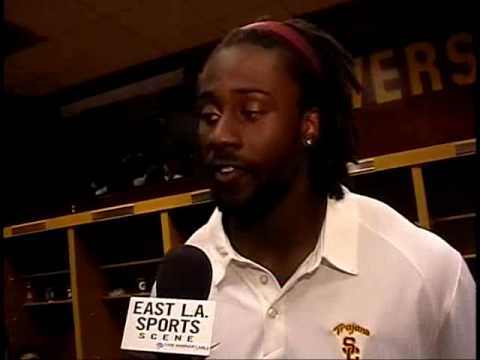 David Ausberry -USC Trojans vs San Jose St -Post Game Interview-9-5-09