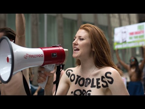 Topless Parade Takes Over Manhattan