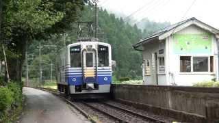 普通電車も停まらない比島駅 えちぜん鉄道勝山永平寺線