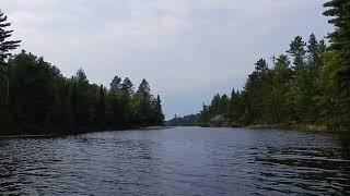 Kayaking on Fenske Lake near Ely MN - Superior National Forest