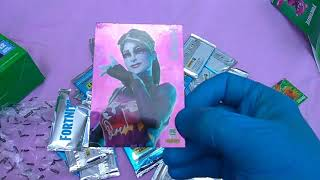 Fortnite Trading Cards, Round 15! Three More Mega Boxes with Six New Cracked-Ice Foils!