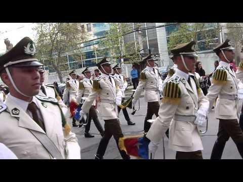 Carabineros de Chile post Parada Militar 2015