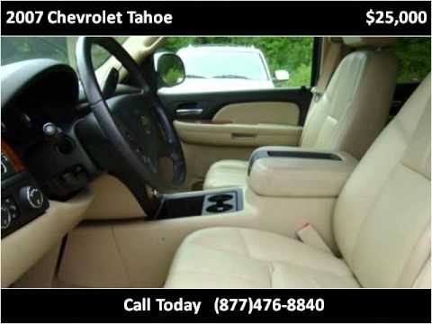 2007 Chevrolet Tahoe Used Cars Cullman AL