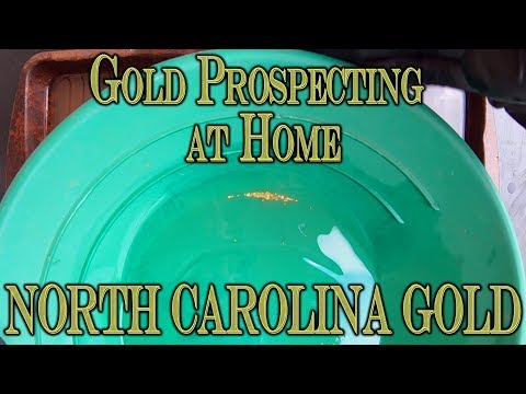 Gold Prospecting At Home #18 - North Carolina Gold Paydirt - Un_treasures33 On Ebay