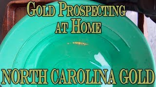 Gold Prospecting At Home #18 - North Carolina Gold Paydirt - Un_treasures33 On E