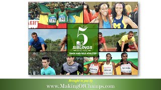 Top 5 Siblings Ruling in Track and Field Athletics - Olympic Games - World Championships