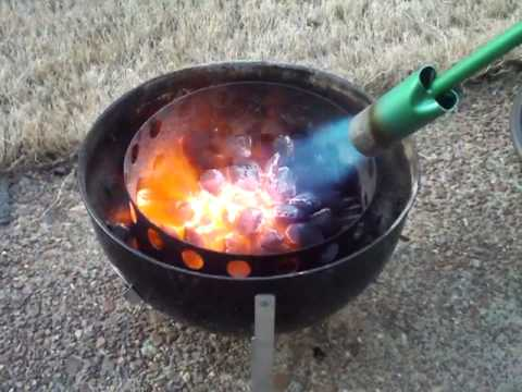 Propane Weed Torch Lighting Charcoal Youtube