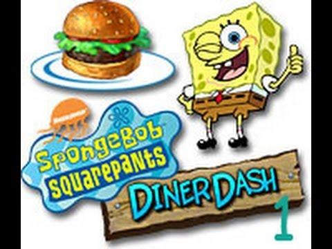 Let's Play SpongeBob Squarepants Diner Dash: Part 1