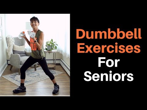 Free Weight Workout For Seniors