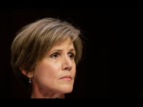 Sally Yates on Trump's travel ban and protecting the rule of law