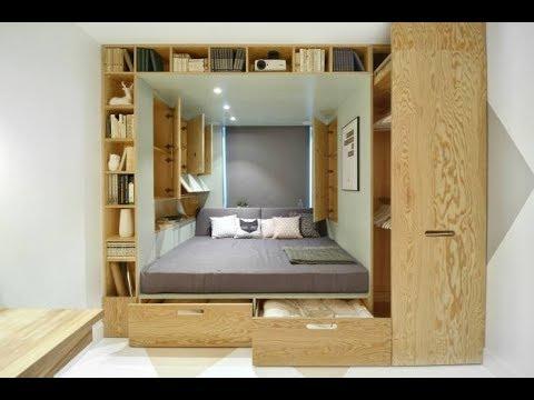 افكار جديده | لديكورات غرف نوم | و استغلال المساحات الصغيره