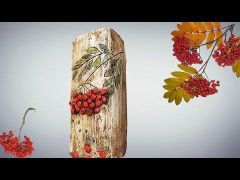 DIY: необычная ваза под натуральное дерево из тетрапака