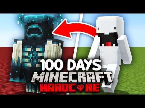 I Survived 100 Days as a SHAPESHIFTER in Minecraft…
