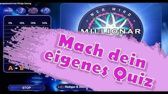 """Dein persönliches """"Wer wird Millionär""""-Spiel - mit eigenen Fragen"""