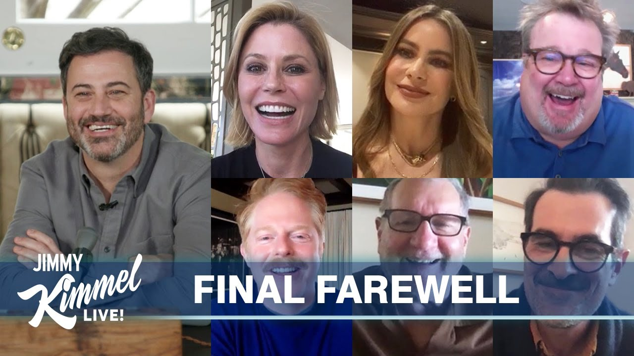 Photo of The Modern Family Cast Says Goodbye | Jimmy Kimmel Live