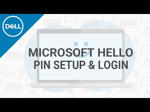 How To Setup A Windows Hello PIN Login ID (Official Dell Tech Support)