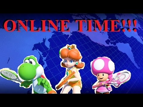 ACTUALLY FOUND SOME PEOPLE ONLINE!!! - Mario Tennis: Ultra Smash (Online) Episode 8