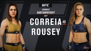 EA Sports UFC 3 - Bethe Correia vs Ronda Rousey - Gameplay (HD) [1080p60FPS]