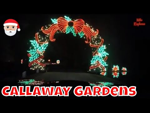 Callaway Gardens Fantasy In Lights (December 2018)