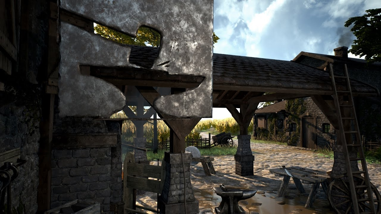 Stream Time Lapse - Blacksmith - Unreal Engine 4