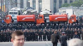 Разгон митинга на Болотной площади 6 мая (Протестное движение в России 2011 - 2013)