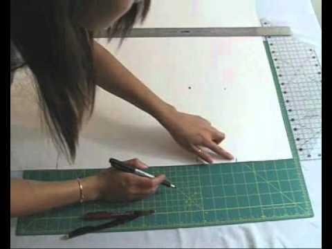 Beginning Pattern Making: How to Make A Custom Tank Top Pattern ...
