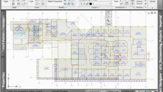 AutoCAD Architecture 2012 - Demo - Space Planning