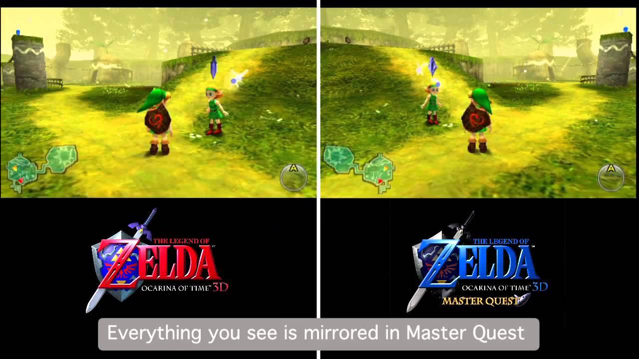 Ocarina Of Time 3d Wallpaper The Legend Of Zelda Ocarina Of Time 3d Master Quest