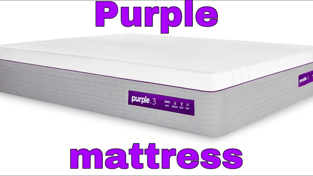 Testing out the purple mattress and pillow + mattress firm ...
