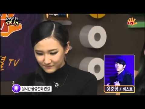 B2ST's Junhyung called EXID & Shinsadong Tiger CUT