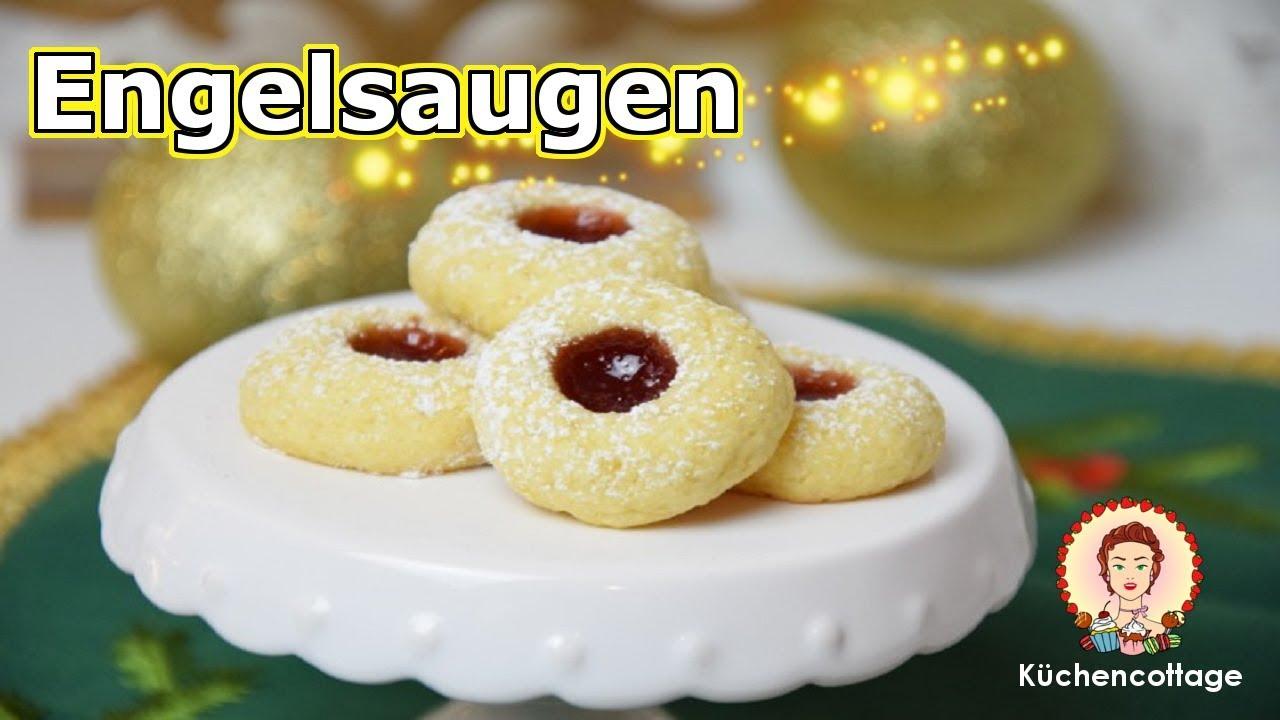 Weihnachtskekse Engelsaugen.Engelsaugen Plätzchen Weihnachtskekse Rezepte Küchencottage