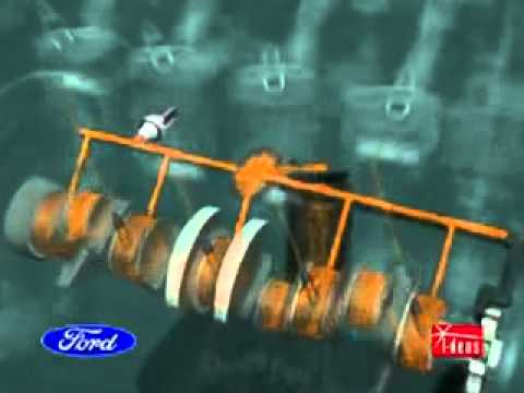 Motor ford animação