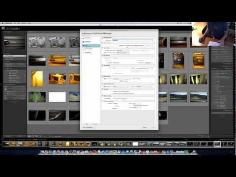 Adobe Photoshop Lightroom Publish Services Tutorial