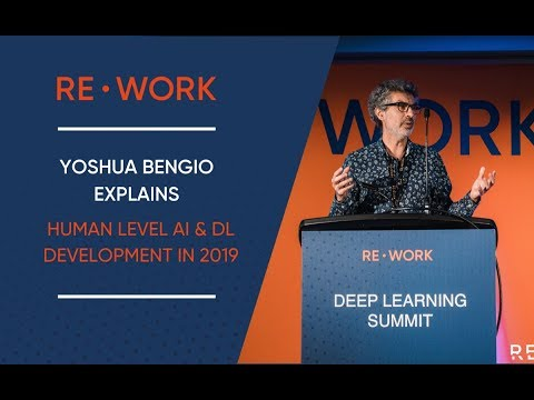 How has Deep Learning Developed in 2019 – Yoshua Bengio (1/4)