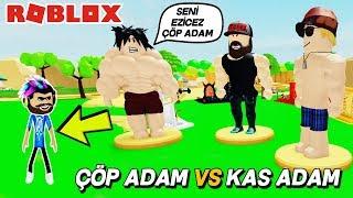 YENİ KAS SİMULATOR 💪 ÇÖP ADAM VS KAS ADAM 💪Lifting Simulator / Roblox Türkçe