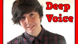 FTM - How To Deepen Your Voice