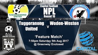 Tuggeranong United vs Woden Valley full match