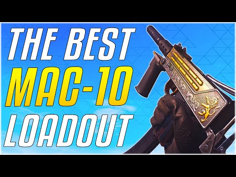 THE BEST MAC-10 LOADOUT - Max Level With All Attachments! [Cold War Warzone]
