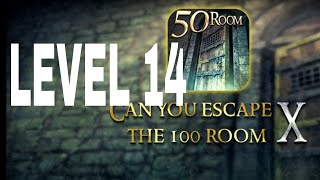 Can You Escape The 100 room X level 14 Walkthrough