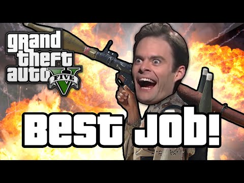 GTA V: BEST JOB EVER! (GTA 5 Next Gen...