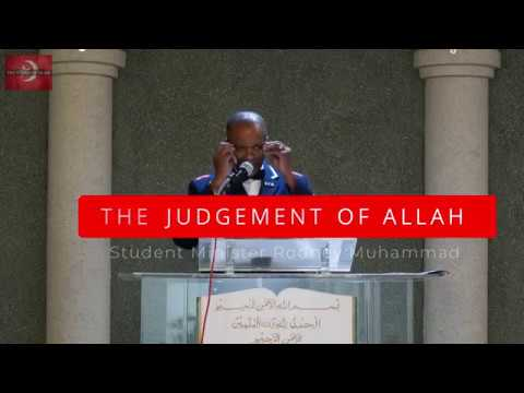 The Judgement Of Allah - [Keynote Address]