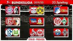 FIFA 20: Spieltag 33 (Die große Konferenz) - Saison 19/20 Bundesliga Prognose l Deutsch [FULL HD]