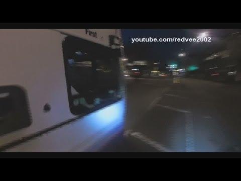 WX57HJV 37317 First Bus F'kin Idiot