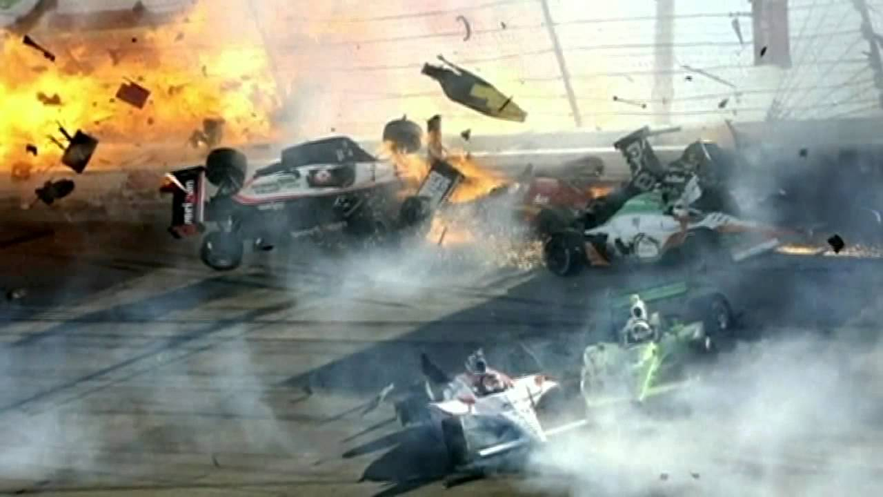 Dan Wheldon Crash Indycar 500 Driver Dan Wheldon Killed In Major