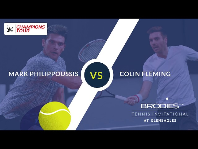 Colin Fleming semi-finalist at the Brodies Tennis Invitational 2018