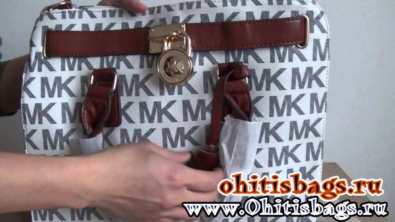 cc5345b2c6bcec Michael Kors Hamilton Large Logo Tote Should Bags Review - YouTube