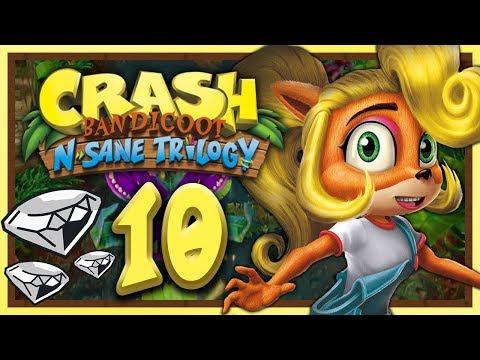 CRASH BANDICOOT N-SANE TRILOGY #10: Coco holt Edelsteine nach! [1080p] ★ Let's Play